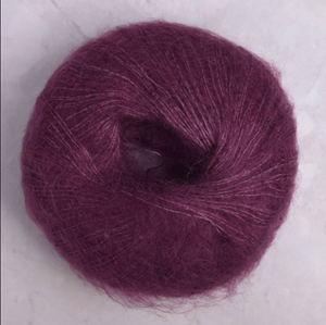 Kidsilk Haze Sweater Bundle:Gossamer #679 (Mulberry)