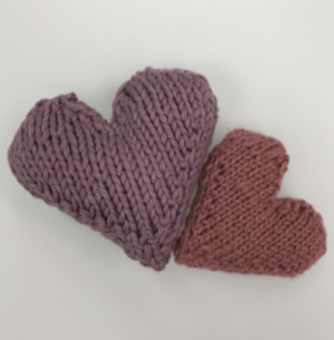Random Acts Knitted Hearts (PDF)