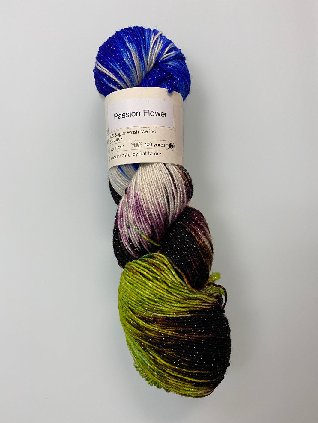 Knitted Wit Pixie Plied - Passion Flower