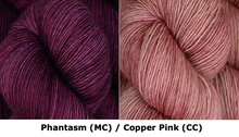 Together Apart Yarn Kit -- Phantasm (MC) & Copper Pink