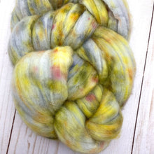 Organic Polworth, Dyed Top - LYS Day Colorway