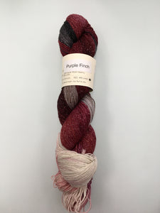 Knitted Wit Pixie Plied - Purple Finch