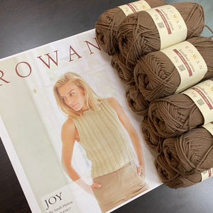 Handknit Cotton Bundle: Joy