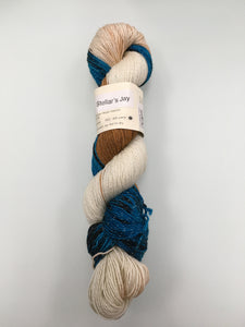 Knitted Wit Pixie Plied - Steller's Jay