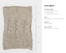 Eco Cashmere 1800 polished purl