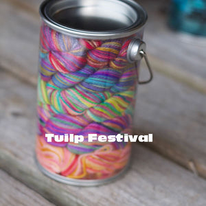 Tulip Festival Paint Can