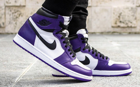 Cívico Estricto paracaídas  Air Jordan 1 Retro High Court Purple – Cop-room