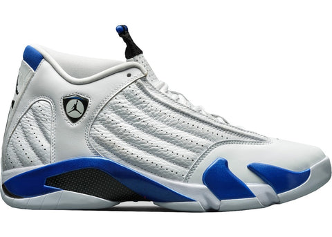 Jordan 14 Retro White Hyper Royal