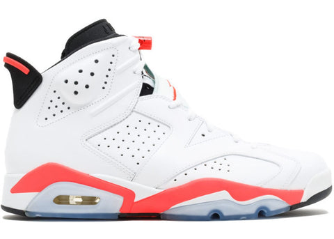 Jordan 6 Retro Infrared White (2014)