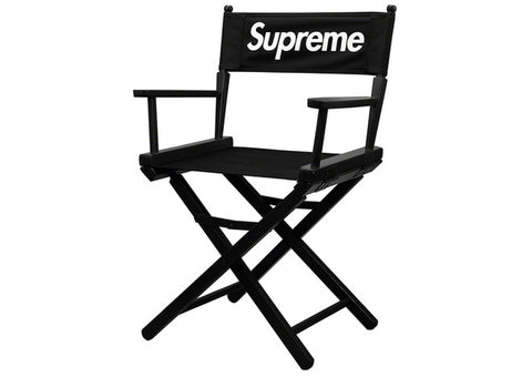 Supreme Director's Chair Black
