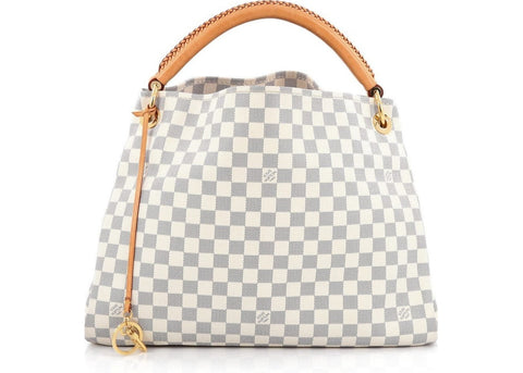 Louis Vuitton Artsy Damier Azur MM Ivorie Grey