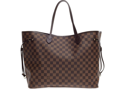 Louis Vuitton Neverfull Damier Ebene GM Brown