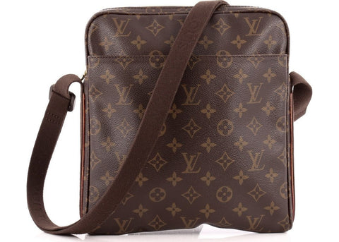Louis Vuitton Trotteur Beaubourg Monogram Brown