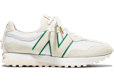 New Balance 327 Casablanca Green Logo