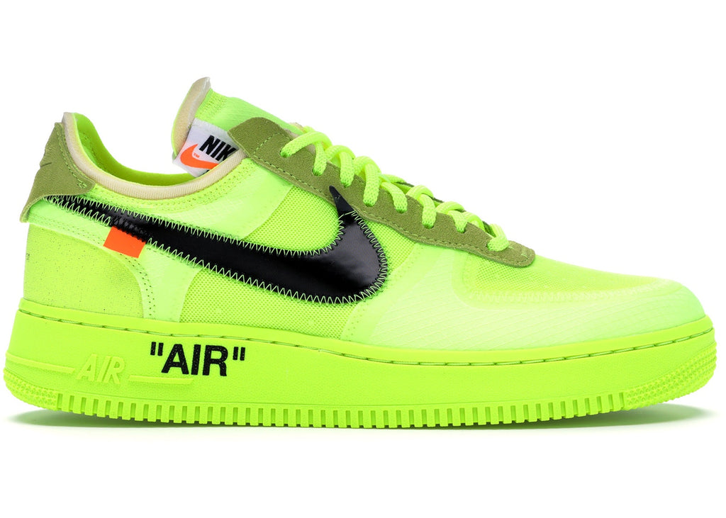 08935468ee42 Air Force 1 Low Off-White Volt – Cop-room