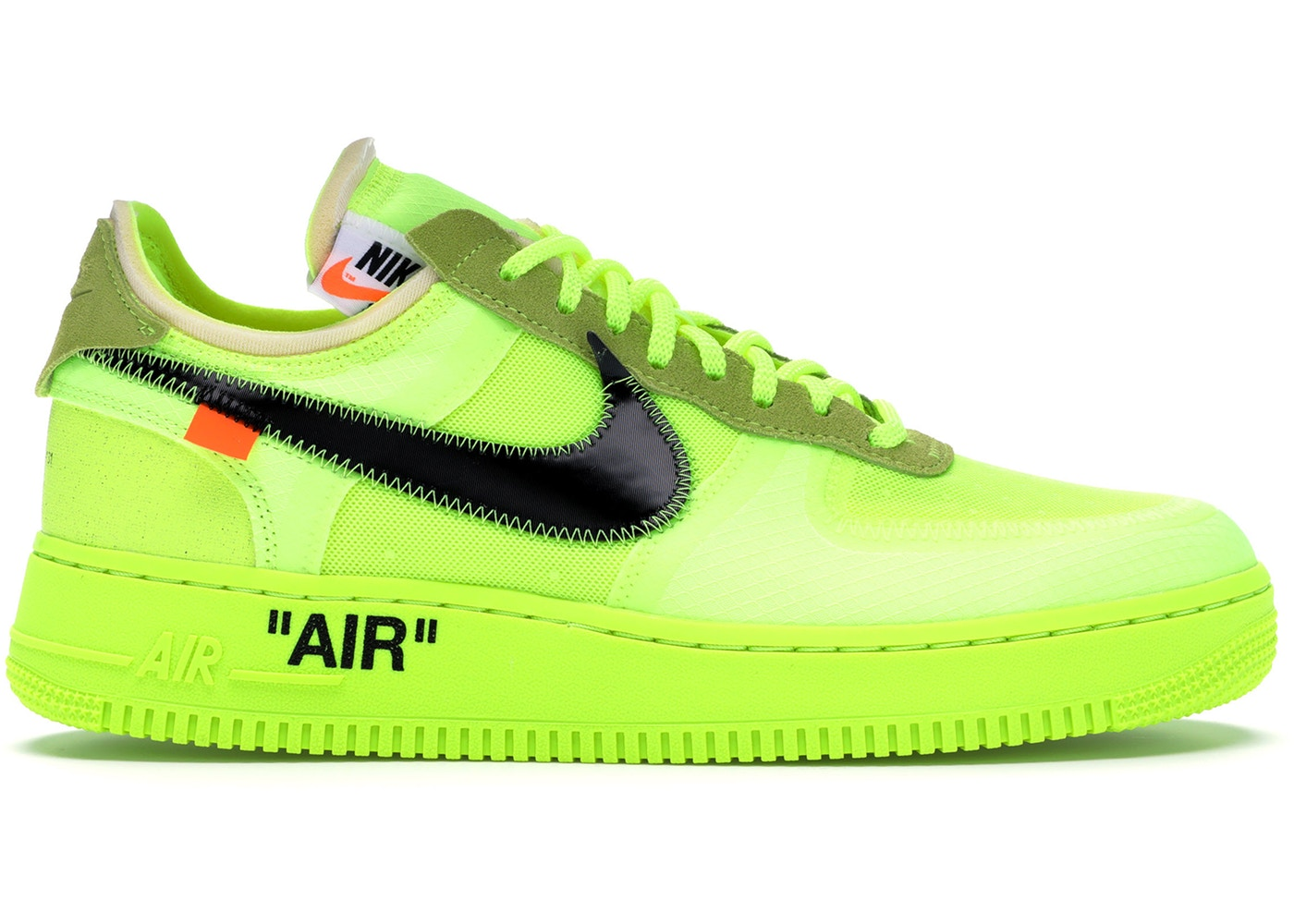 --Air Force 1 Low Off-White Volt--