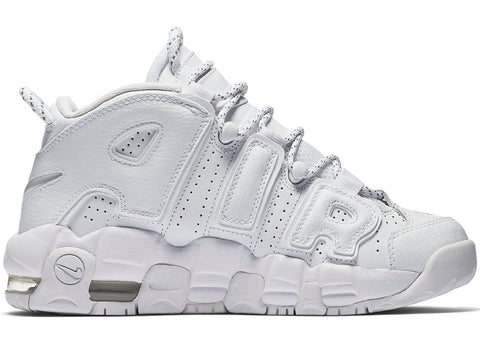 Air More Uptempo Triple White (GS)