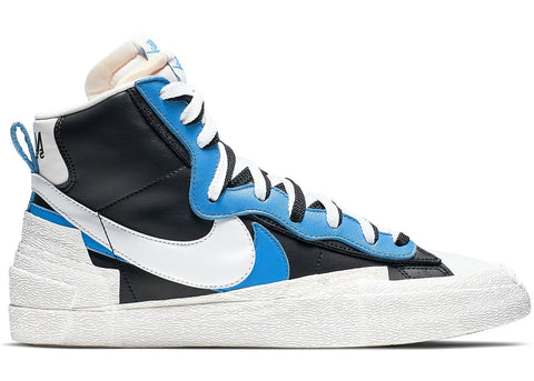 Nike Blazer High sacai White Black Legend Blue