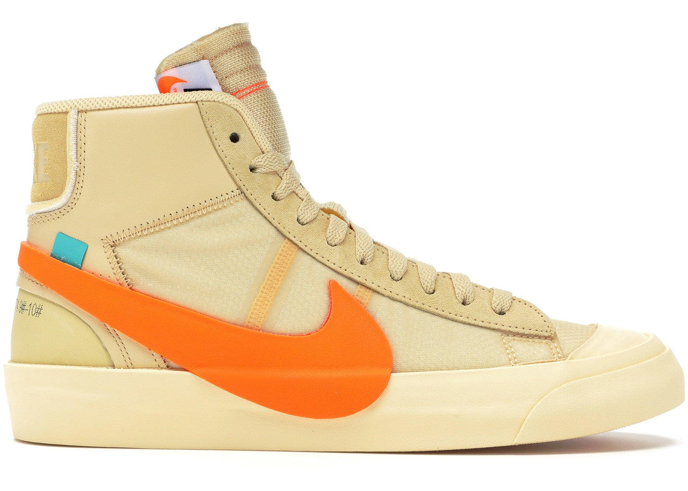 --Nike Blazer Mid Off-White All Hallow's Eve--