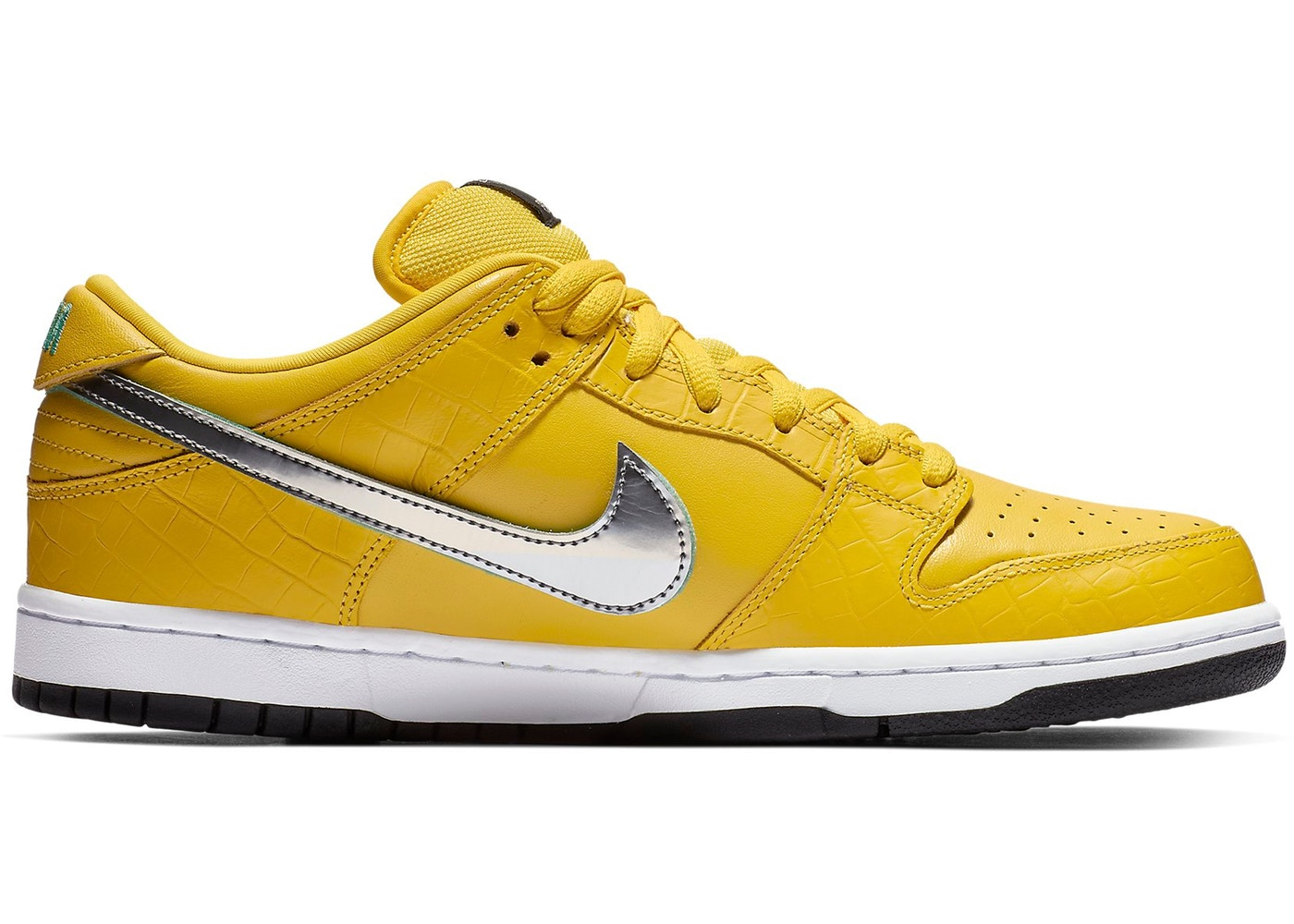 --Nike SB Dunk Low Diamond Supply Co Canary Diamond (Friends and Family)--