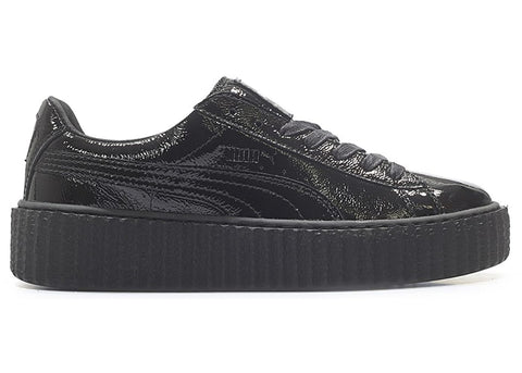 Puma Creeper Rihanna Fenty Cracked Leather Black (W)