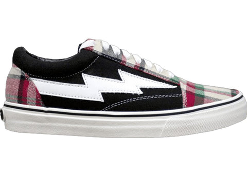 Revenge x Storm Low Top Plaid/Black