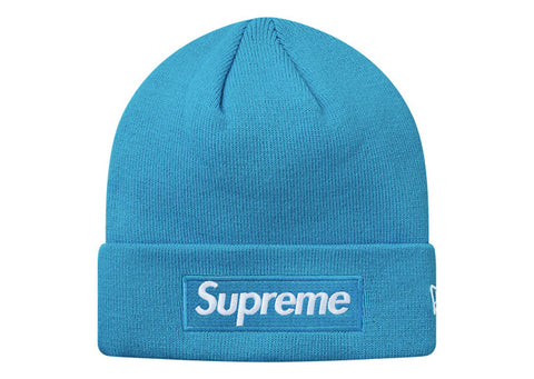 Supreme New Era Box Logo Beanie (FW18) Bright Royal