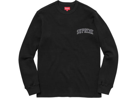 Supreme Arc Logo L/S Thermal Black
