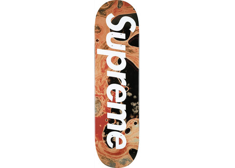 Supreme Blood & Semen Skateboard Multi