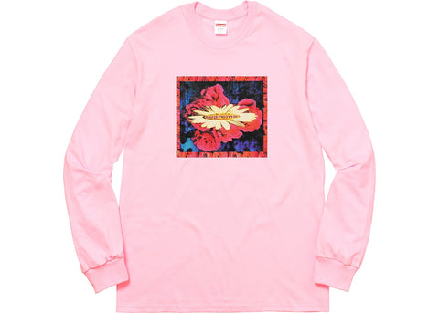 Supreme Bloom L/S Tee Light Pink