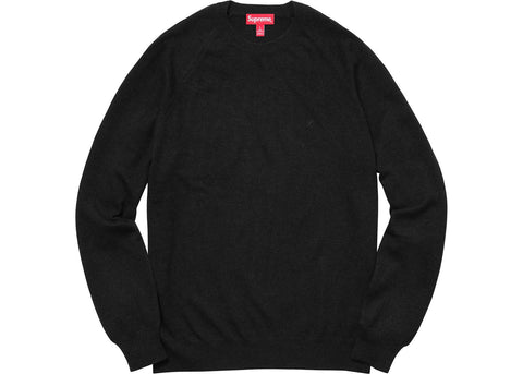 Supreme Cashmere Sweater Black