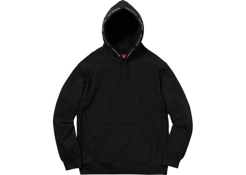 Supreme Channel Hooded Sweatshirt Black