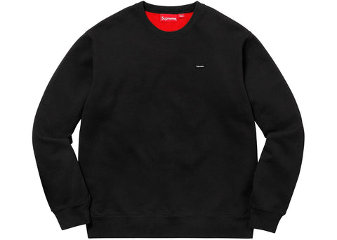 Supreme Mini Box logo Crewneck Black