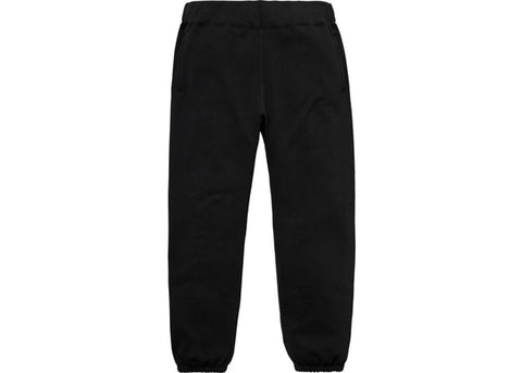 Supreme Corner Label Sweatpant Black