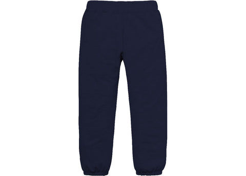 Supreme Corner Label Sweatpant Navy