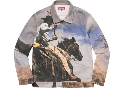 Supreme Cowboy Denim Work Jacket Multi