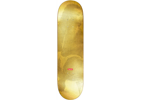 Supreme Digi Skateboard Gold