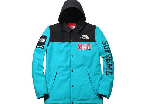 Supreme The North Face Expedition Coaches Jacket Teal
