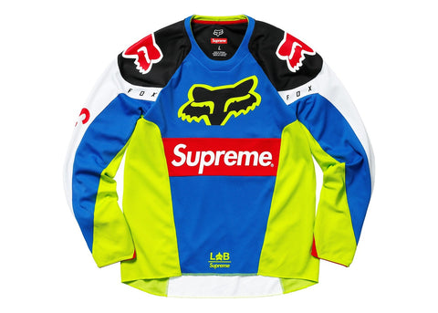 Supreme Fox Racing Moto Jersey Top Multicolor