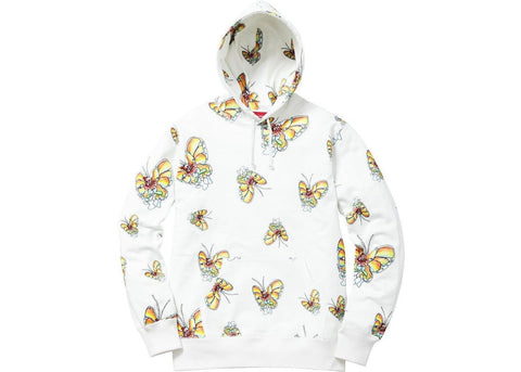 Supreme Gonz Butterfly Hooded Sweatshirt Off White