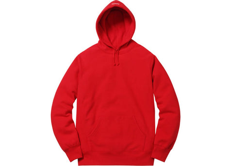 Supreme Illegal Business Hooded Sweatshirt Red