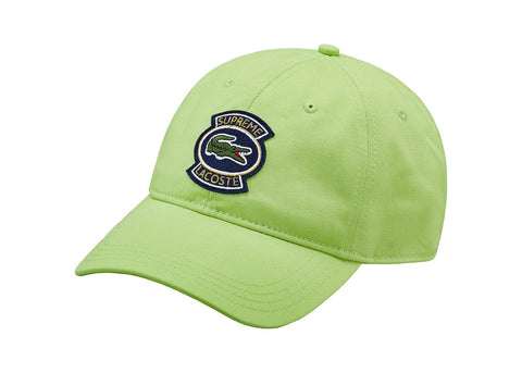 Supreme LACOSTE Twill 6-Panel Green