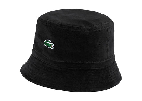 Supreme LACOSTE Velour Crusher Black