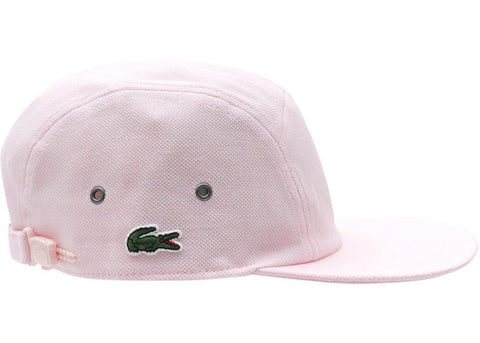 Supreme Lacoste Pique Knit Camp Cap Light Pink