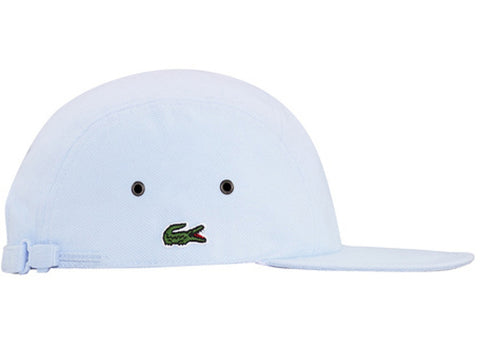 Supreme Lacoste Pique Knit Camp Cap White