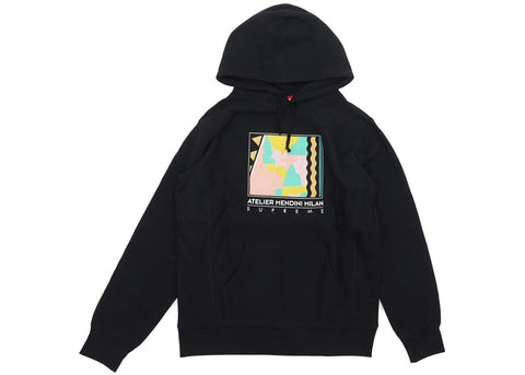 Supreme Mendini Hooded Sweatshirt Black