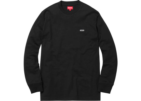 Supreme Metallic Box Logo L/S Tee Black