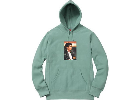Supreme Michael Jackson Hooded Sweatshirt Seafoam