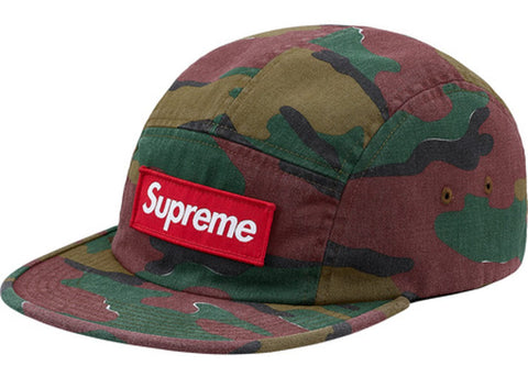 Supreme Military Camp Cap (SS18) Jigsaw Camo