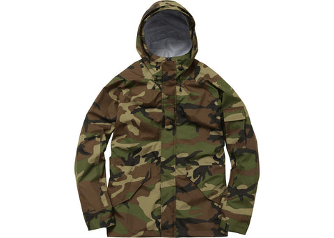 Supreme Military Taped Seam Jacket Green Camo